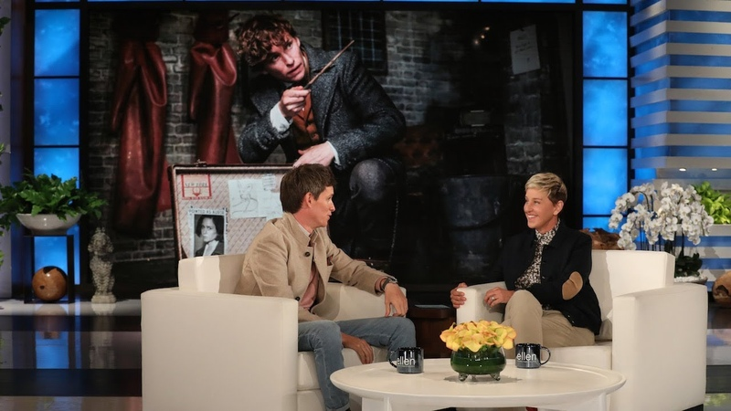 Fantastic Beasts Star and New Dad Eddie Redmayne Could Use a Sleeping Spell