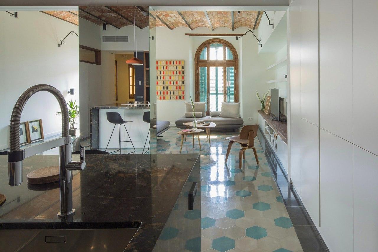 Квартира в центре Барселоны, 118 кв.