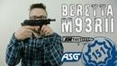ASG Beretta M93R II Страйкбольный пистолет (airsoft, страйкбол )