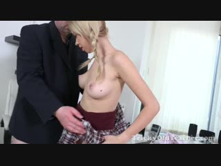 Tisha aka arteya (trisha gets an a + by sucking and fucking her tricky old teacher)