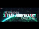 AFC Marathon: Three Year Anniversary • 17-19.08.2018