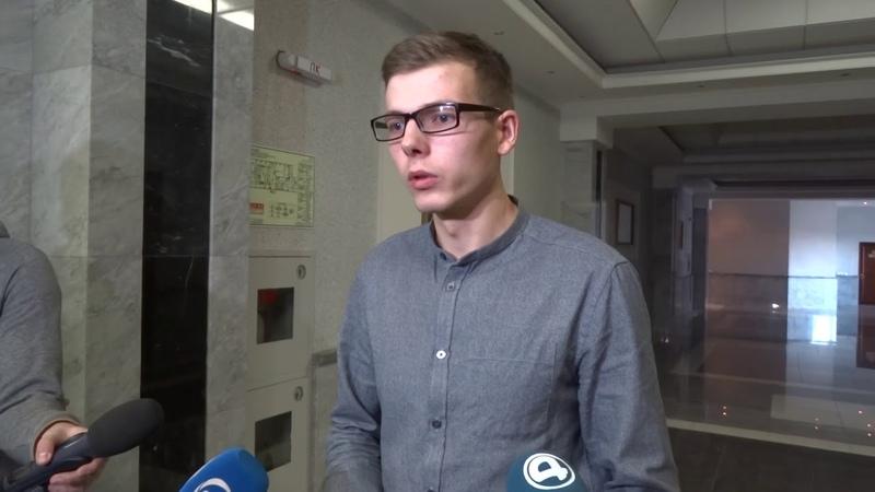 Владислав Рябухин заявил журналистам, что надеется на оправдательный приговор