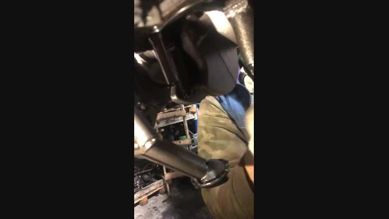 Проверка состояния коленвала перед отправкой Клиенту комплектного двигателя