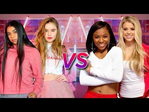 DANCE BATTLE - MEAN GIRLS VS HIGH SCHOOL MUSICAL | Why Don't We-These Girls (Choreo - Josh Killacky)
