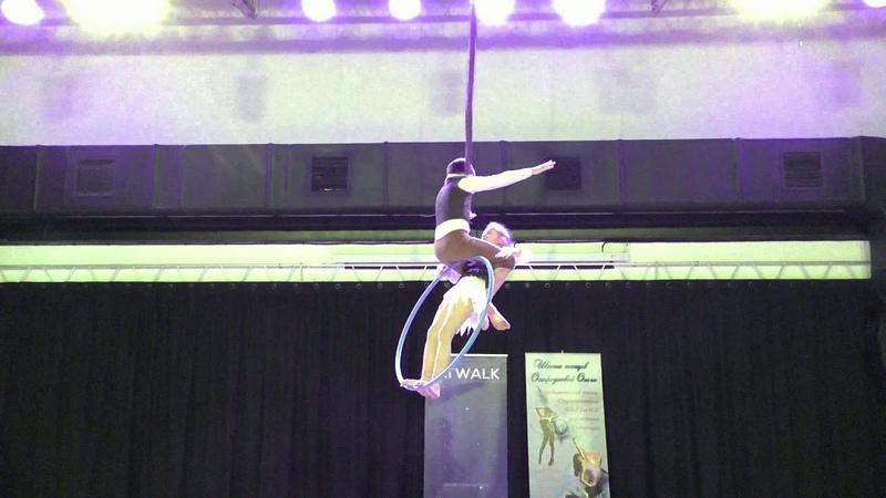 Данила Игнатьев и Арина Полупанова Catwalk Dance Fest IX pole dance aerial 30 04 18
