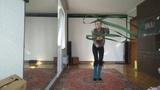 Morning dance improvisation with ribbon Spring mood Старый приятель - Новый день календаря