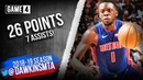 Reggie Jackson Full Highlights 2019 ECR1 Game 4 Bucks vs Pistons - 26 Pts, 7 Asts! | FreeDawkins