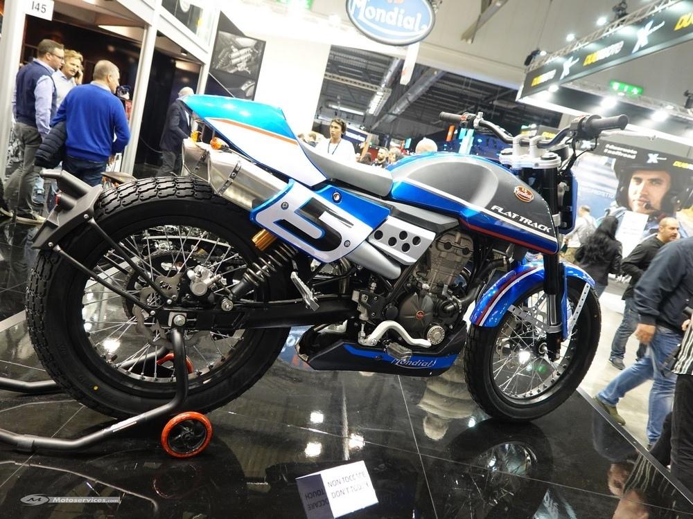 EICMA 2018: мотоцикл Mondial FLAT