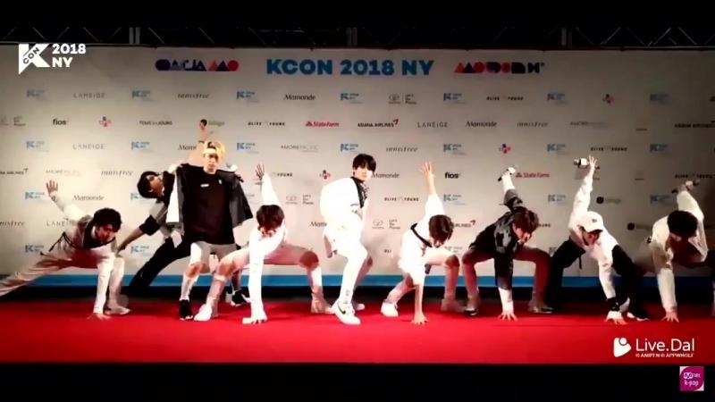 Stray Kids на Красной Дорожке KCON2018