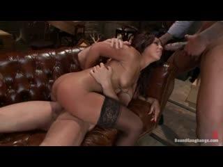 Boundgangbangs - leilani leeane [big ass, cumbang, gangbang, blowjob, anal, cumshot, full hd 1080p]
