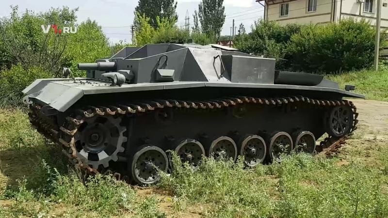 Волгоградец собрал StuG III