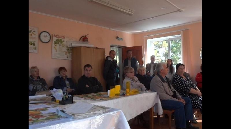 Собрание зимников Снт Металлург2 г. Магнитогорск 8 сентября 2018 (5)