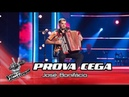 José Bonifácio Libertango Prova Cega The Voice Portugal