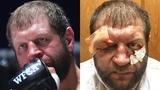 Александр Емельяненко до и после боя против Тони Джонсона / Полный обзор боя