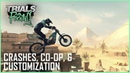 Trials Rising Spectacular Crashes Customization and Tandem Co Op Interview Ubisoft NA