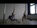 Exotic Pole Dance c Дарьей Че