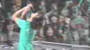 111027 shinee nagoya concert minho and jonghyun's water war kkk