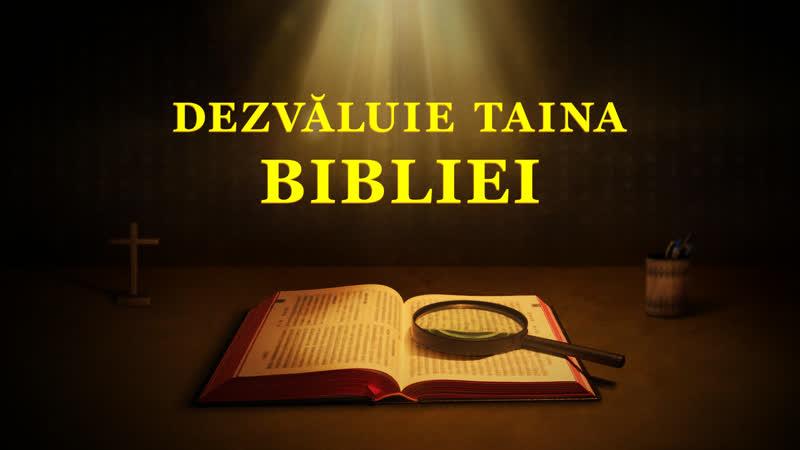 """Film creștin online subtitrat """"Dezvăluie Taina Bibliei""""Dezvăluirea poveștii ascunse a Bibliei"""