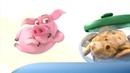 Очень смешной мультик про свинку и печения