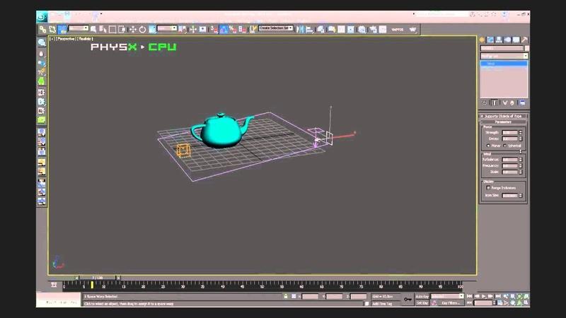 3D Max PArray Object Fragments