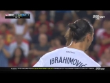 Zlatan scoring his 500th career goal in style