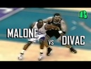 Karl Malone vs Vlade Divac ● Sacramento Kings 92 99 Utah Jazz ● NBA Playoffs 1999 Game 5