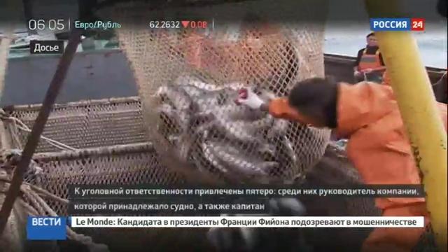 Новости на Россия 24 • На Сахалине начались слушания по делу о крушении траулера Дальний восток