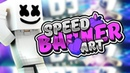 SPEED ART BANNER MARSHMELLO