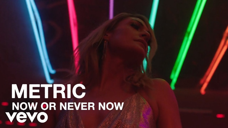 Metric - Now or Never Now - Official Music Video [HD]