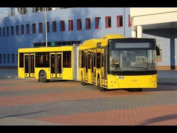 Автобус Минск МАЗ-215,гос.№ АС 3586-7,марш.40 (16.02.2019)