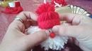 Merry Christmas, Babbo natale da appendere da realizzare con i bambini