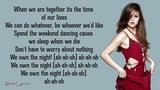 Selena Gomez &amp The Scene - We Own The Night (Lyrics)