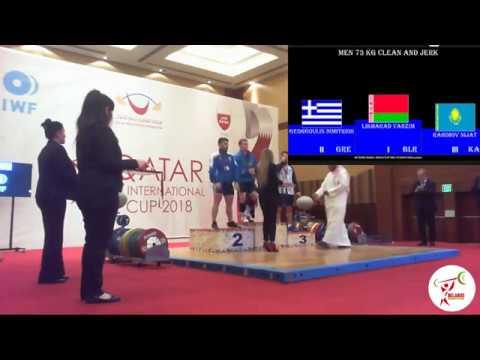 Вадим Лихорад (BLR) - Men 73kg, IWF 5th International Qatar Cup, Doha 2018