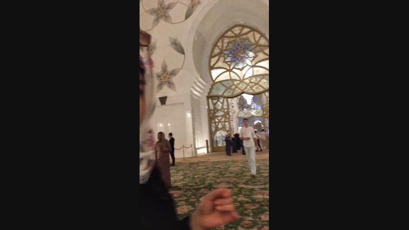 Абу-Дабі ОАЕ Мечеть Шех-Заїде 28.11.2018р