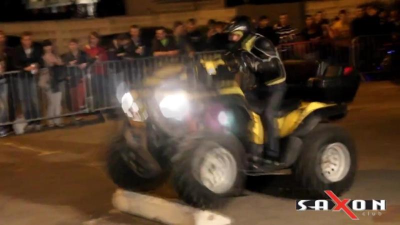 Стрит рейсинг Street racing party Saxon club 25.05.2012