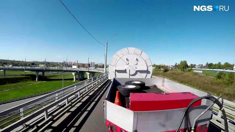 С завода «Элсиб» на ТЭЦ-4 перевезли статор весом 100 тонн