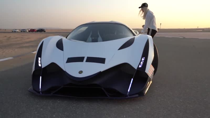 Worlds First Person To Drive THE DEVEL SIXTEEN