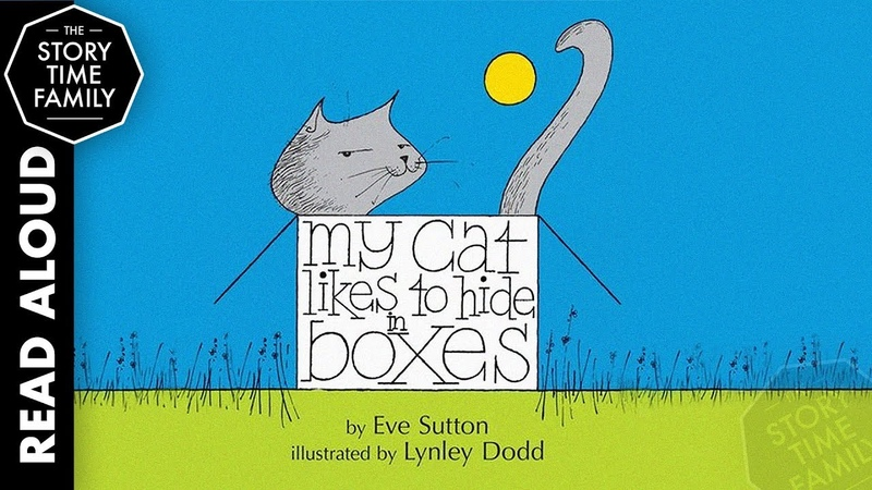 My Cat Likes To Hide in Boxes | Read Aloud Book for Kids