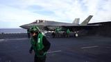 F-35C Lightning II launch From USS Carl Vinson