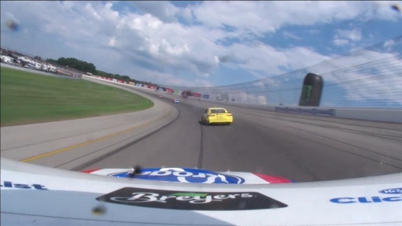 47 - AJ Allmendinger - Onboard - Michigan - Round 23 - 2018 Monster Energy NASCAR Cup Series