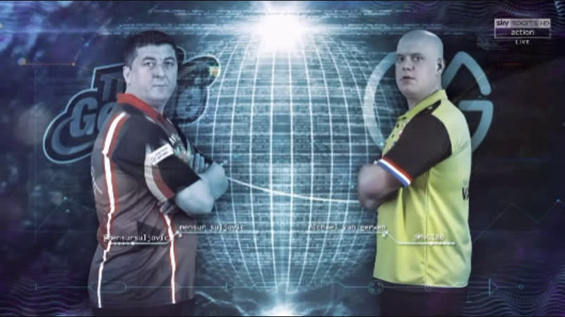 2019 Premier League week 2 Suljovic vs van Gerwen