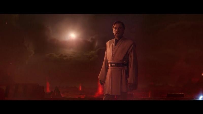 Anakin Skywalker vs Obi-Wan Kenobi 1ª Parte - Dublado [PT-BR] HD 1080p