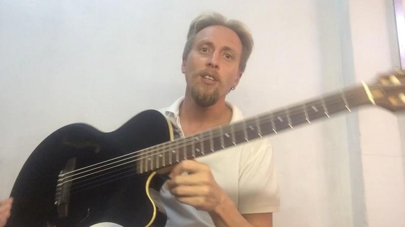 Обзор гитары Yamaha AEX 500
