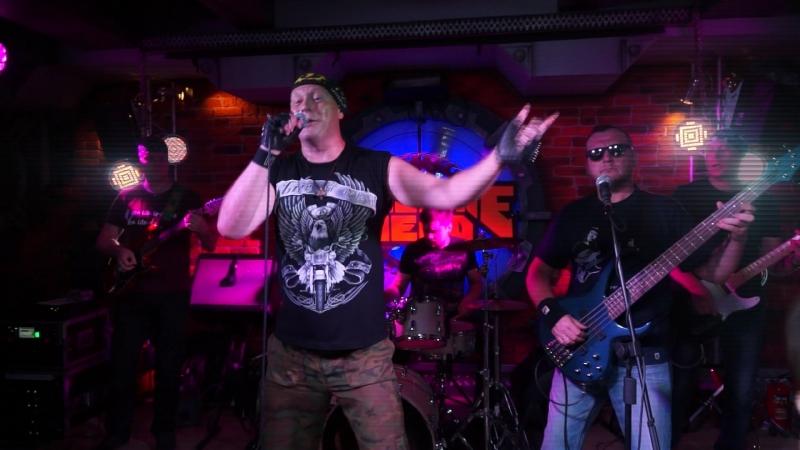 Группа Кадры (cover гр. Кино) рок-клуб Machine Head - когда твоя девушка больна.