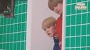 Jimin and V (지민 김태형 BTS) tease each other
