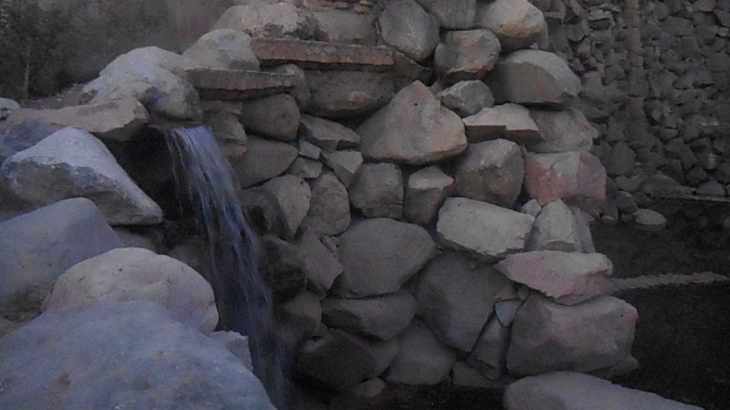 водопад в Таджикистане г. ДУШАНБЕ