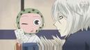 Прикольные и милые моменты *из аниме очень приятно бог*