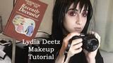 Lydia Deetz HalloweenCosplay Makeup Tutorial - Beetlejuice