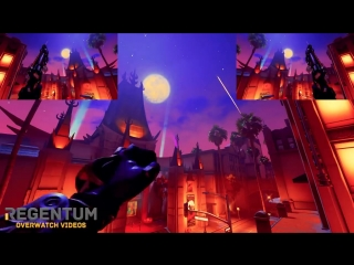 [Overwatch Gun Sync] Imagine Dragons - Believer [Halloween Map]