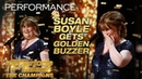 Susan Boyle Earns Golden Buzzer With Iconic Wild Horses - Americas Got Talent The Champions